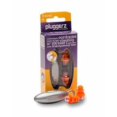 Pluggerz Uni-fit travel oordopjes (2 stuks)