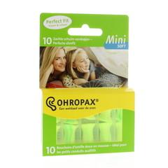Ohropax Soft geluid mini (10 stuks)