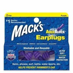 Macks Aquablock purple (2 paar)