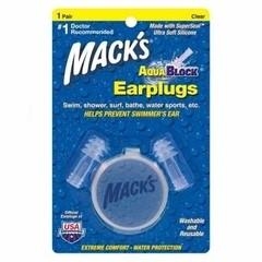 Macks Aquablock clear (1 paar)