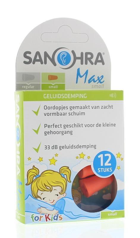 Sanohra Sanohra Oordop foam max small (6 paar)