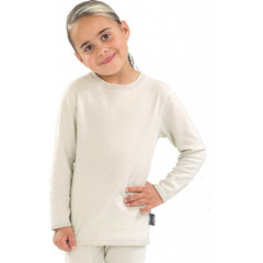 Best4Body Verbandshirt kind wit lange mouw 116 (1 stuks)