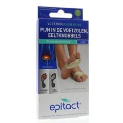 Epitact Voetzoolkussentjes pijn 42/45 (2 stuks)