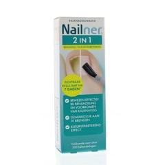 Nailner 2 in 1 brush (5 ml)
