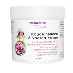 Naturalize Koude handen en voeten creme (250 ml)