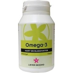 Liever Gezond Omega 3 (60 softgels)