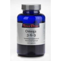 Nova Vitae Omega 3 6 9 1000 mg (100 capsules)
