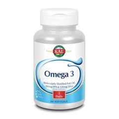KAL Omega 3 180/120 (60 softgels)
