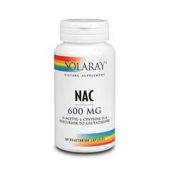 Solaray N Acetyl l-cysteine 600 mg (60 vcaps)