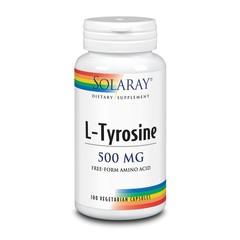 Solaray L-Tyrosine 500 mg (100 vcaps)
