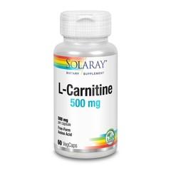 Solaray L-Carnitine 500 mg (60 vcaps)