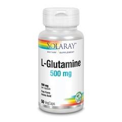 Solaray L-Glutamine 500 mg (50 vcaps)