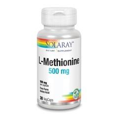 Solaray L-Methionine 500 mg (30 vcaps)