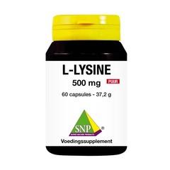 SNP L-lysine 500 mg puur (60 capsules)