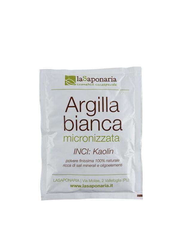 La Saponaria La Saponaria Witte klei poeder (100 gram)