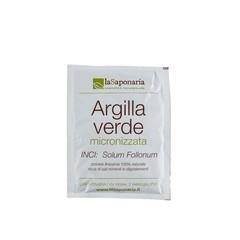 La Saponaria Groene klei poeder (100 gram)