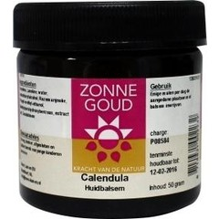 Zonnegoud Calendula balsem (50 gram)