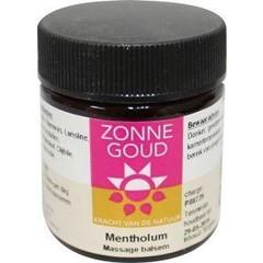 Zonnegoud Mentholum balsem (30 gram)