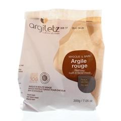 Argiletz Klei superfijn rood (200 gram)