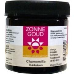 Zonnegoud Chamomilla huidbalsem (50 gram)