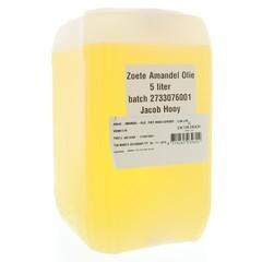 Jacob Hooy Amandelolie zoet (5 liter)