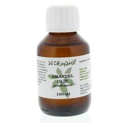 Cruydhof Amandelolie zoet geraffineerd (100 ml)
