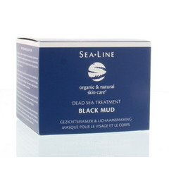 Sea-Line Black mud facial mask & body pack (225 ml)