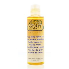 Natures Help Aloe vera huidolie mild (200 ml)