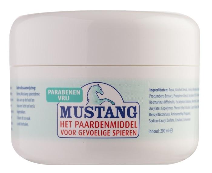 Jacob Hooy Jacob Hooy Mustang spiercreme (200 ml)