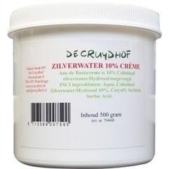 Cruydhof Zilverwater creme 10% (500 gram)