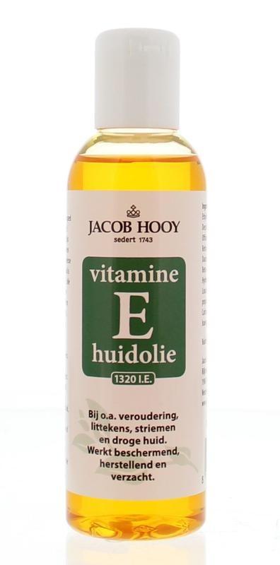Jacob Hooy Jacob Hooy Vitamine E huidolie (150 ml)