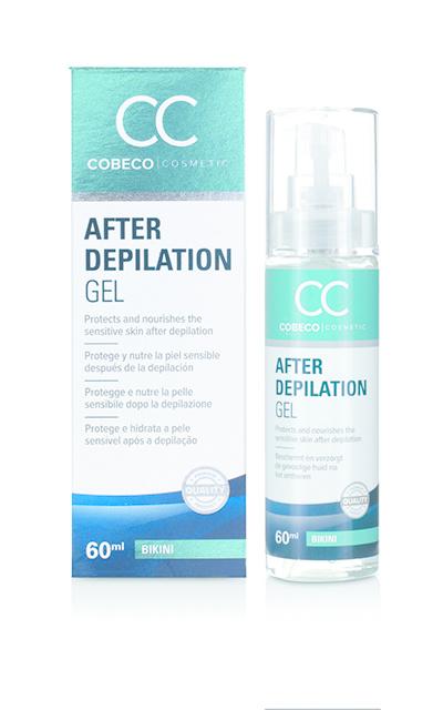 Cobeco Cosmetic Cobeco Cosmetic After depilation gel bikini (60 ml)