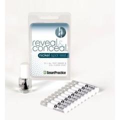 Smartpractice Nikkel spot test reveal & conceal (10 ampullen)