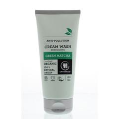 Urtekram Cream wash green matcha (180 ml)