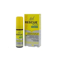 Bach Rescue remedy plus spray (20 ml)