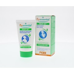Puressentiel Ademhaling massagebalsem 19 essentiele olien (50 ml)