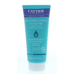 Cattier Douche & shampoo sport (200 ml)