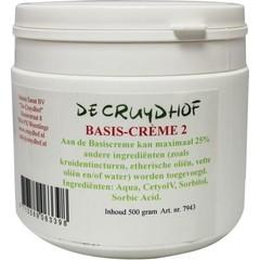 Cruydhof Basis creme 2 zonder paraffine (500 gram)