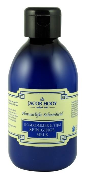 Jacob Hooy Jacob Hooy Komkommer en tijm reinigingsmelk (250 ml)