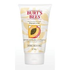 Burts Bees Gezichtscrub peach & willowbark (110 gram)
