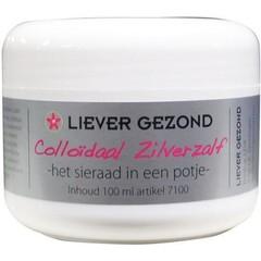 Liever Gezond Colloidaal zilverzalf (100 ml)