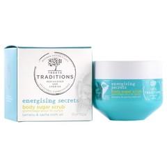 Treets Energising Secrets sugar scrub (375 gram)