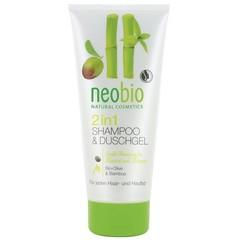 Neobio Douche & shampoo 2 in 1 (200 ml)