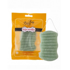 Lady Green Konjac bodyspons aloe vera (1 stuks)