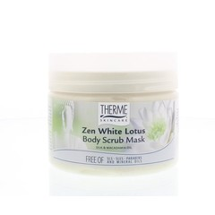 Therme Zen white lotus body scrub mask (350 ml)