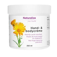 Naturalize Hand en bodycreme (250 ml)