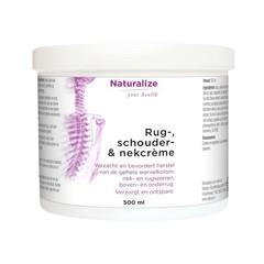 Naturalize Rug- schouder- nek creme (500 ml)