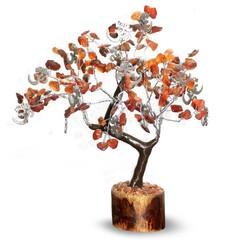 Green Tree Edelsteen boom hangers 160 steentjes spiritualitei (1 stuks)