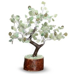 Green Tree Edelsteen boom hangers 160 steen innerlijke geluk (1 stuks)