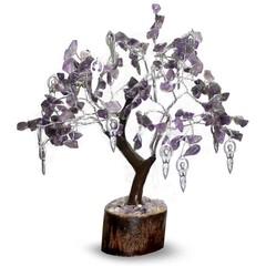 Green Tree Edelsteen boom hangers 160 steen innerlijk geneesk (1 stuks)